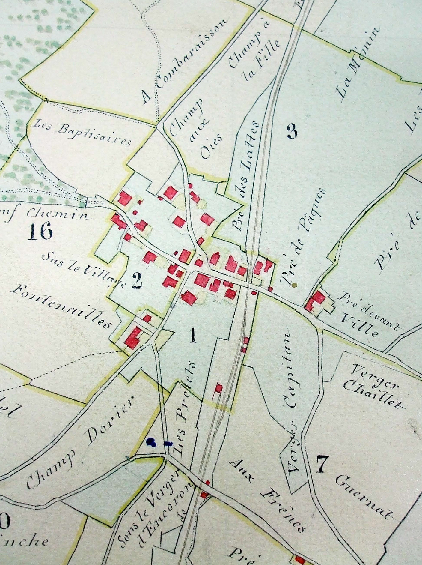 A la fin du XIXe siècle, les Geneveys-sur-Coffrane, un petit village agricole