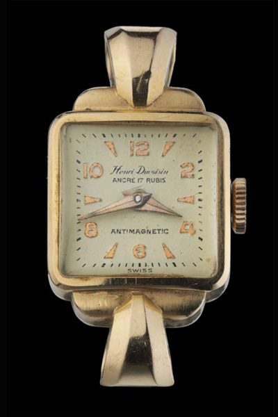 Henri Duvoisin Montre Automatique