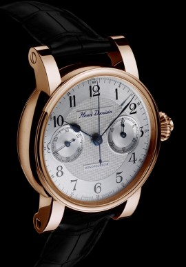 Single push-piece chronograph 19'' Red gold