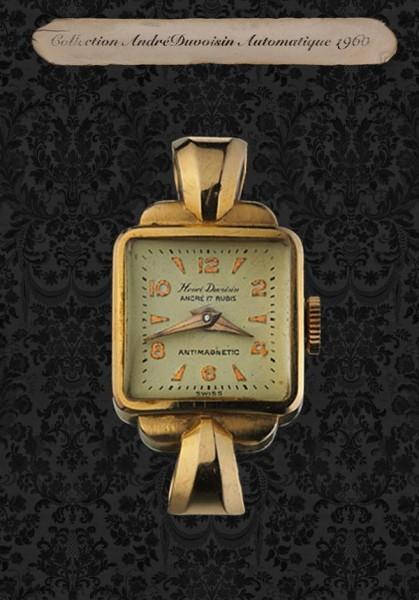 H. Duvoisin Collection Automatique 1960