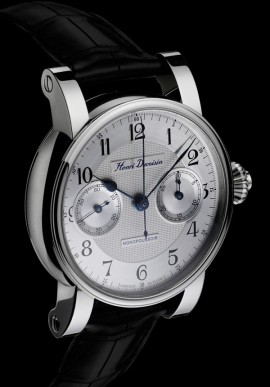 Single push-piece chronograph 19'' Steel